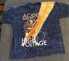 ac dc high voltage t shirt XL