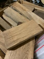"BOX OF 10KG BROWN OAK FLOOR BOARD OFF CUTS 25MM THICK 2-5"" WIDE 6-20"" LONG"