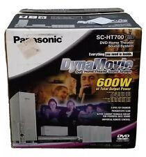 New Panasonic DVD Home Theater Sound System SC-HT700 5-DVD/ CD Changer