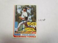 1982 Topps Mike Torres Autographed Signed Baseball Card