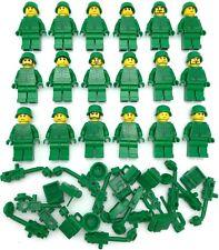 1x Minifig casque helmet Army soldat armée guerre vert//green 87998 NEUF Lego