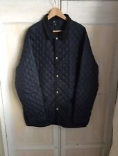 Brugi Navy Quilted Jacket Size xL