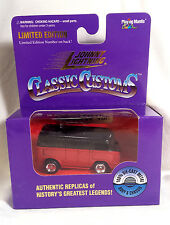 Johnny Lightning Classic Customs VW Volkswagen Van red/black MIB - 1st JL VW VAN