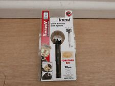 TREND SNAPPY 18MM X 80MM  FORSTNER DRILL BIT WITH HEX SHANK SNAP/FS/18