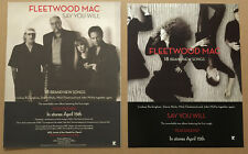 Stevie Nicks Fleetwood Mac Rare Double Side Promo Window Cling Poster of 2003 Cd
