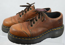 Dr Martens Oxfords Leather Boots Womens UK 5 US 7 Brown 5-Eye Cap Toe England