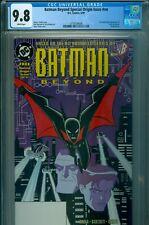 BATMAN BEYOND SPECIAL ORIGIN ISSUE #1 #NN CGC 9.8 WP 1st TERRY McGINNIS HOT!!!