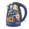 The Pioneer Woman Fiona Floral Blue, Electric Kettle, 1.7-Liter, Model 40971