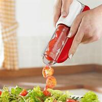 Easy Fruit Slicer Cutter Tomato Grape Cherry Slicer Kitchen Tool Q