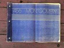 Bound Set COMPLETE BLUEPRINTS 456 MONTGOMERY ST. SAN FRANCISCO Architecture 1983