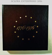 1976 3 Piece SILVER Proof Set Box ONLY (No Coins)