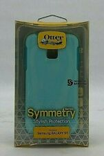 Otter Box Case for Samsung Galaxy S5 | Symmetry Series | Light Blue (IJ52)