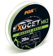 Fox Camouflage Leadcore Leaders du 45 Lb toutes tailles environ 20.41 kg