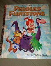 VINTAGE PEBBLES FLINTSTONE ( A LITTLE GOLDEN BOOK) COPYRIGHT 1963