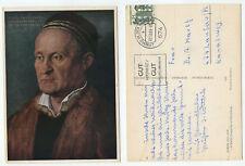 16699 - Albrecht Dürer: Jakob Muffel - beschnittene AK, gelaufen 22.12.1965