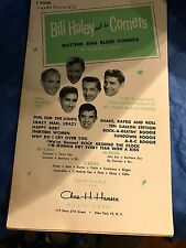 BILL HALEY AND HISCOMETS MUSIC RHYTHM/BLUES COMBOS FOR SMALL DANCE BANDS 1950