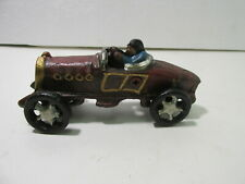 Old Style Reproduction Race Car Cast Iron Vehicle t3713