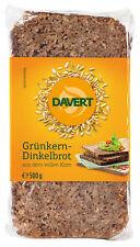 Bio Grünkern-Dinkelbrot aus dem vollen Korn, 500 g NEU & OVP von Davert