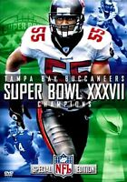 NEW DVD -  NFL Super Bowl XXXVII - Tampa Bay Buccaneers - Championship Video
