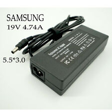 Replacement Charger for Samsung NP305E5A NP300E5A NP300V5A NP305V5A, 90W