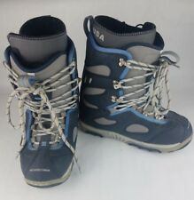 DC Shoes SnowBoard Boots Womens Size 9 Blue Gray Brabus Model Lace Up