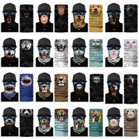 1PC Cycling Motorcycle Scarf Neck Warmer Face Animal Mask Ski Balaclava Headband