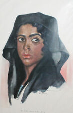 Franz Kienmayer woman portrait vintage print
