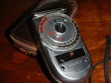 Sekonic Light-meter with with Case. Auto-Leader Model 38 reflective and incident