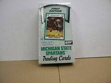 First Edition Collegiate Collection Michigan State spartans trading cards