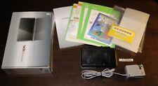 Nintendo 3DS Original Handheld Console System Black w/Luma3DS Homebrew installed