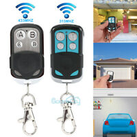 315mhz 433mhz Universal Cloning Remote Control Key Electric Garage Door Opener