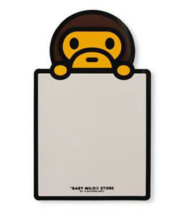 A BATHING APE BABY MILO STORE BABY MILO MAGNETIC WHITEBOARD New