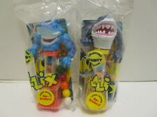FLIX STREET SHARKS CANDY MACHINE DISPENSOR ***NEW IN PACKAGES***