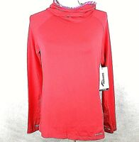 SAUCONY Women's Hoodie Small Red Evolution Running Top Training Lightweight NWT