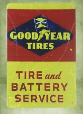 Us Seller- living wall decor Good Year Tires battery service tin metal sign