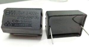 2pcs BM MKP-X2 5UF 400V-275VAC 275V AC for Induction cooker etc 36mm*25mm*18mm
