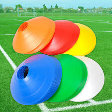 10x Football Rugby Sport Cross Training   Space Marker Soccer Cone Saucer Best