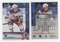 Adam Fox 2020 Upper Deck National Hockey Card Day USA Rookie #NHCD-1 RANGERS