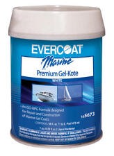Boat Marine Evercoat Premium Gel-Kote White Pint Repair of Marine Gel Coats