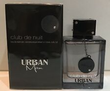 Club De Nuit Urban Man by Armaf for Men EDP Spray 3.6 oz / 105 ml New in box