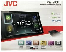 """JVC KW-V85BT 6.8"""" 2-DIN In-Dash DVD Receiver with Bluetooth,CarPlay Android NEW"""