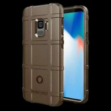 For Samsung Galaxy Touch 9 N960F Shield Series Outdoor Brown Case Cover