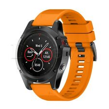 Quick Install Replacement Band Silicone Strap Bracelet for Garmin Fenix 5X Watch