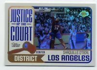 2003-04 Topps SHAQUILLE O'NEAL Rare JUSTICE OF THE COURT INSERT #JC-3 Lakers HOF