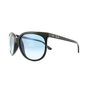 Ray-Ban Sunglasses Cats 1000 4126 601/3F Black Light Blue Gradient