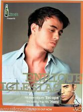 "Enrique Iglesias ""Escape - Including The Hits Hero"" Thailand Promo Poster"