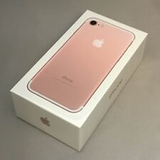 New Sealed in Box Apple iPhone 7 32GB Rose Gold AT&T Smartphone 1 Year Warranty
