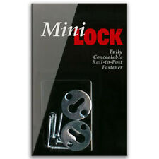 MiniLOCK™ Handrail Fastener 2 Pack      Mini Lock Rail to Post Fastener New