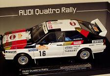 1/18 Audi Quattro Sanremo Rally approximately 1982 H.