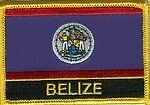 Belize  Patch / Belize  Flag